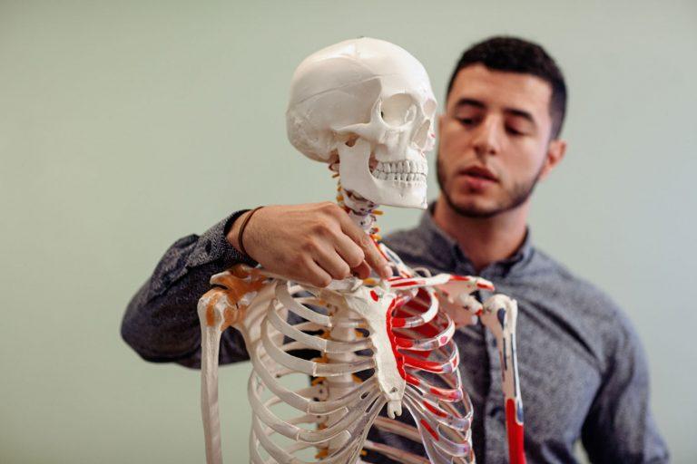 Kinésithérapie I (massage sportif) student