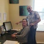 Leo et Martyne, directeurs d'Ikra, école de massage Ikra