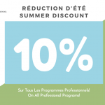 Summer Discount: -10% On All Professional Programs!