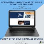 Nous allons proposer le cours de massage suédois I en ligne