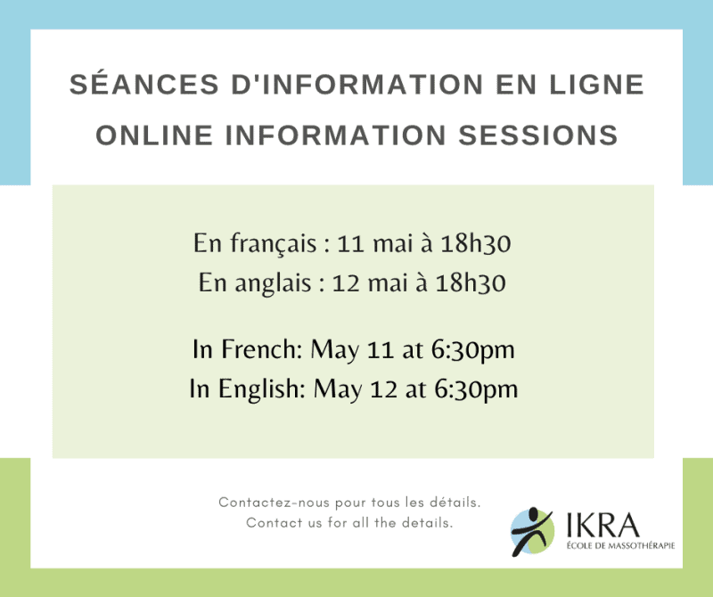 Rejoignez-nous pour notre Session d'information en ligne