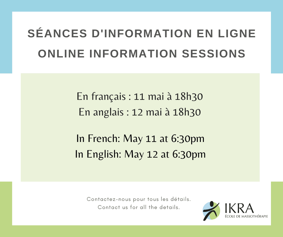 Join us for our online information session