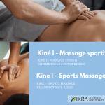 les hommes reçoivent des massages