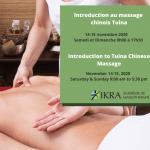 Une massothérapeute donne des massages chinois Tuina