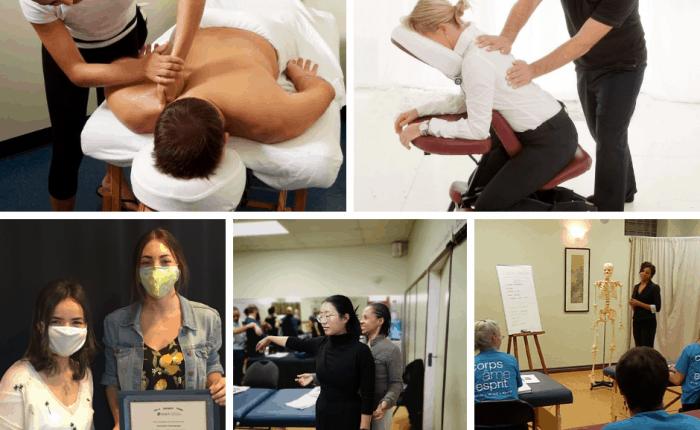 Teaching massage therapy
