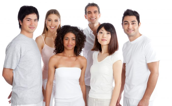A group of massage therapists